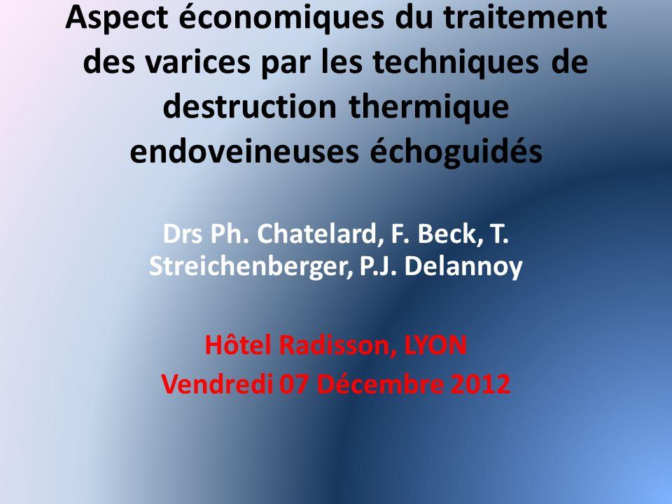 Drs Ph. Chatelard, F. Beck, T. Streichenberger, P.J. Delannoy