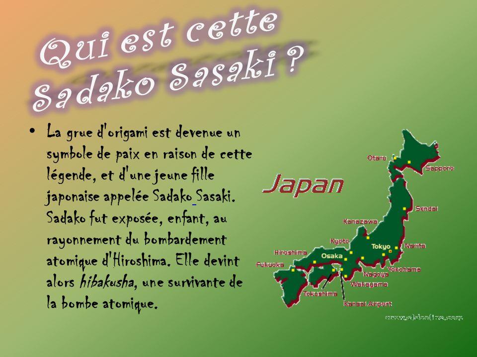 Qui est cette Sadako Sasaki