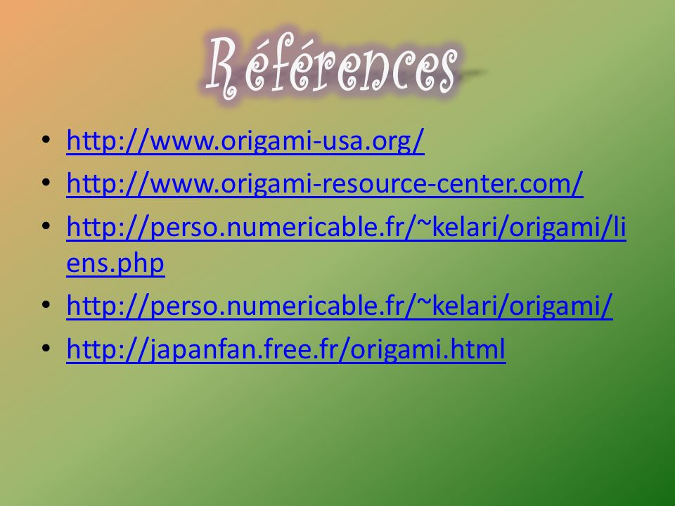 http://www.origami-usa.org/ http://www.origami-resource-center.com/