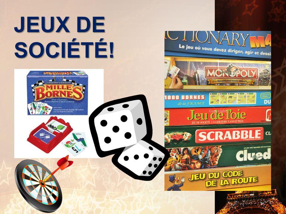 JEUX DE SOCIÉTÉ!