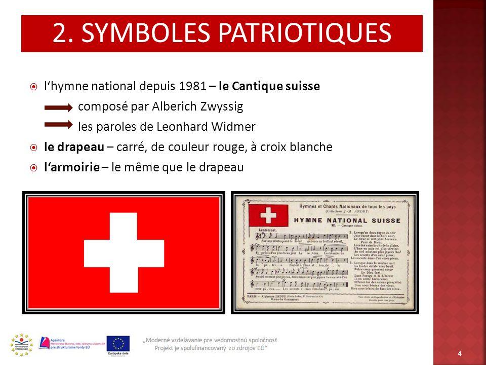 2. SYMBOLES PATRIOTIQUES