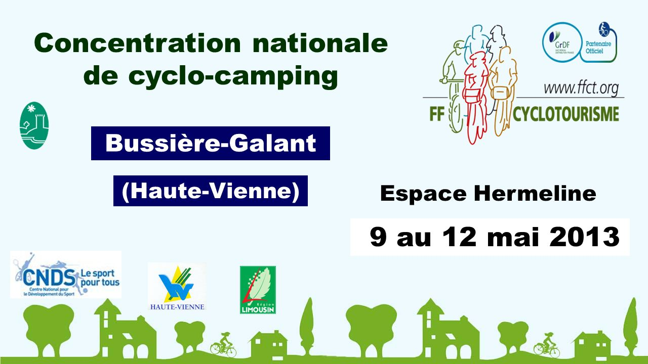 Concentration nationale de cyclo-camping