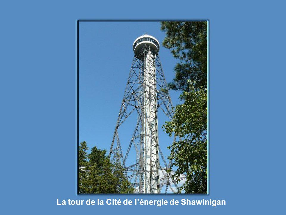 La tour de la Cité de l'énergie de Shawinigan