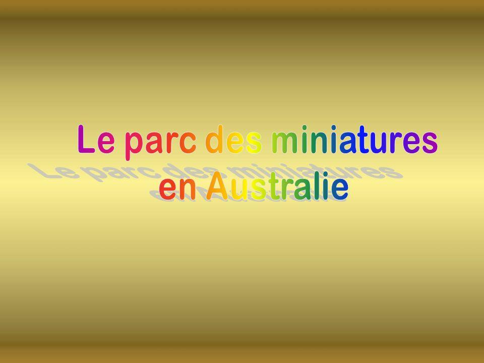 Le parc des miniatures en Australie