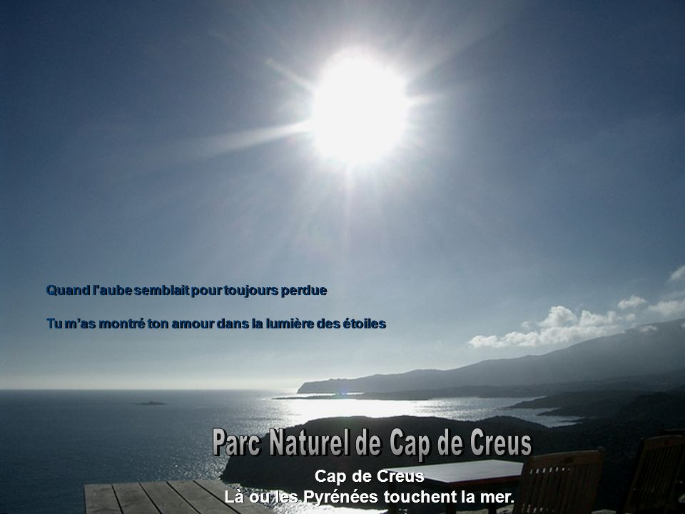 Parc Naturel de Cap de Creus Là ou les Pyrénées touchent la mer.