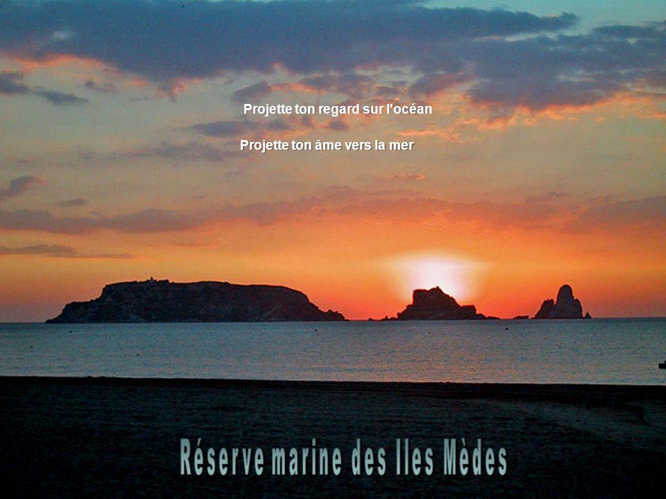 Projette ton regard sur l océan Projette ton âme vers la mer