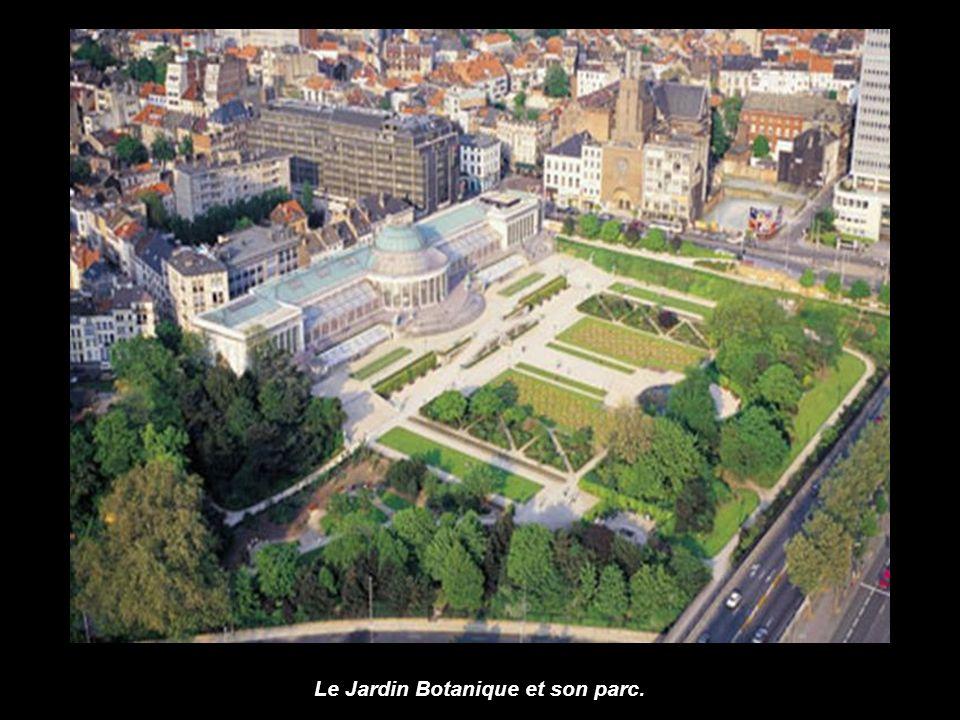 Le Jardin Botanique et son parc.