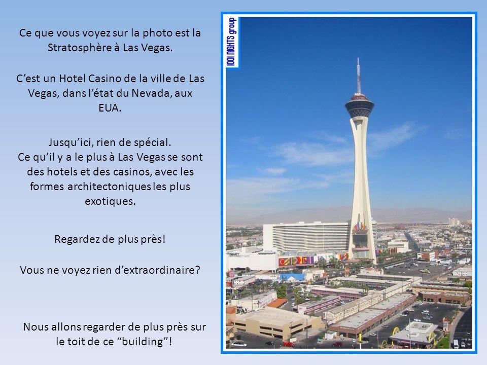 Ce que vous voyez sur la photo est la Stratosphère à Las Vegas.