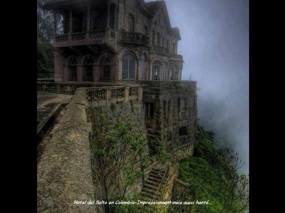 Hotel del Salto en Colombie-Impressionnant mais aussi hanté...