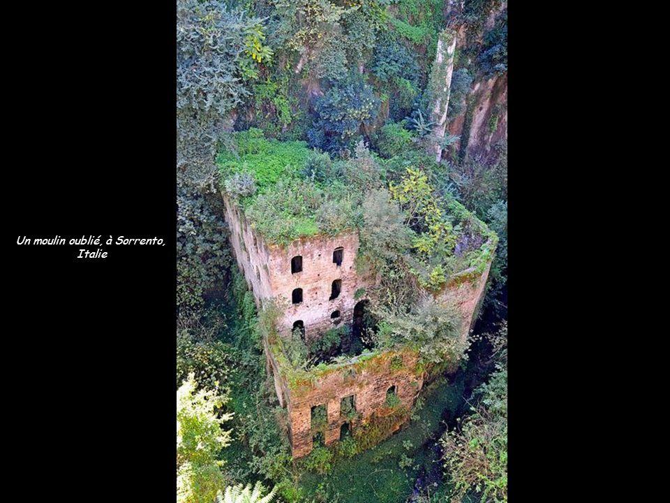 Un moulin oublié, à Sorrento,