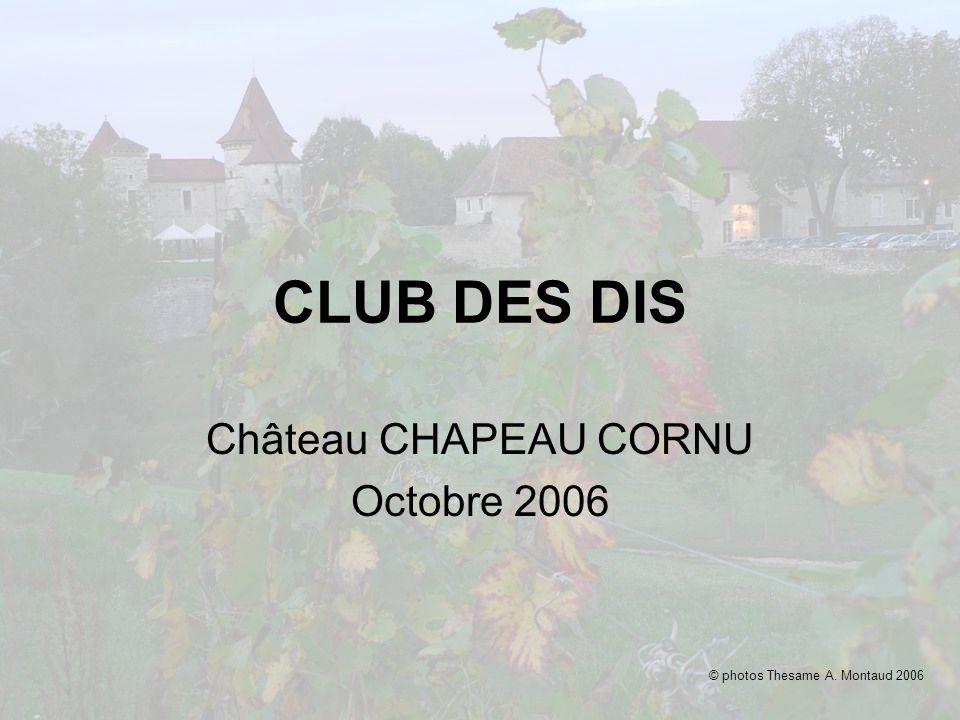 Château CHAPEAU CORNU Octobre 2006