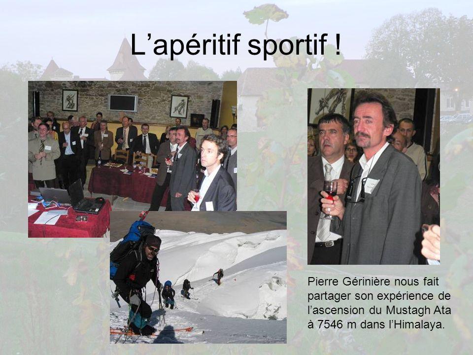 L'apéritif sportif ! Pierre Gérinière nous fait