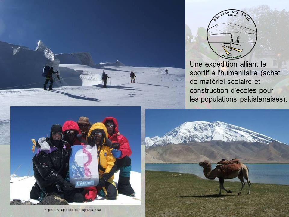 Une expédition alliant le sportif à l'humanitaire (achat