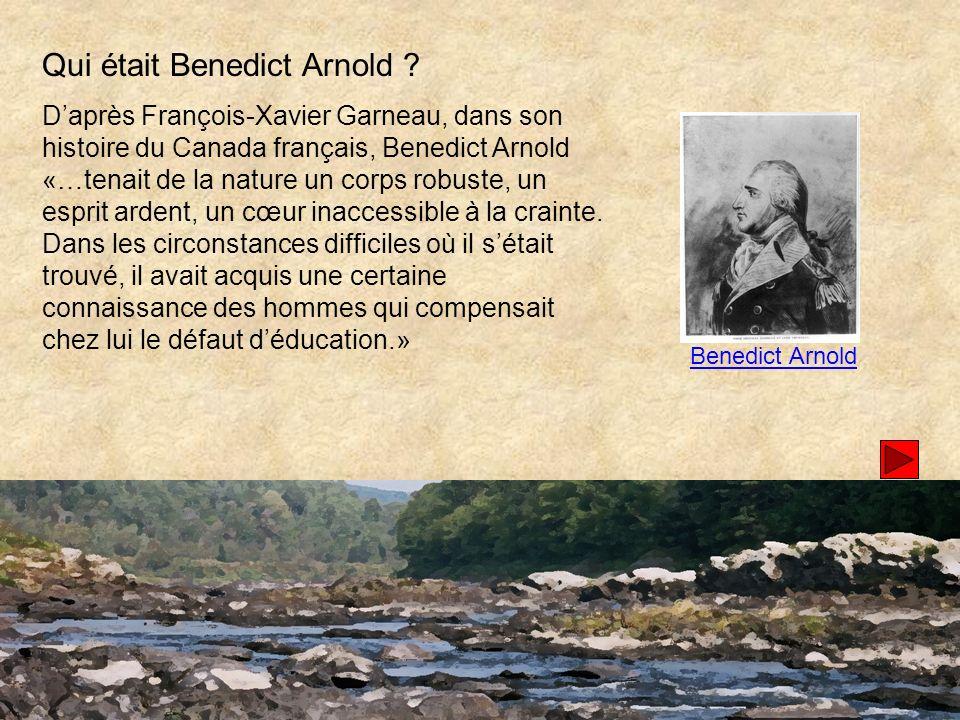 Qui était Benedict Arnold