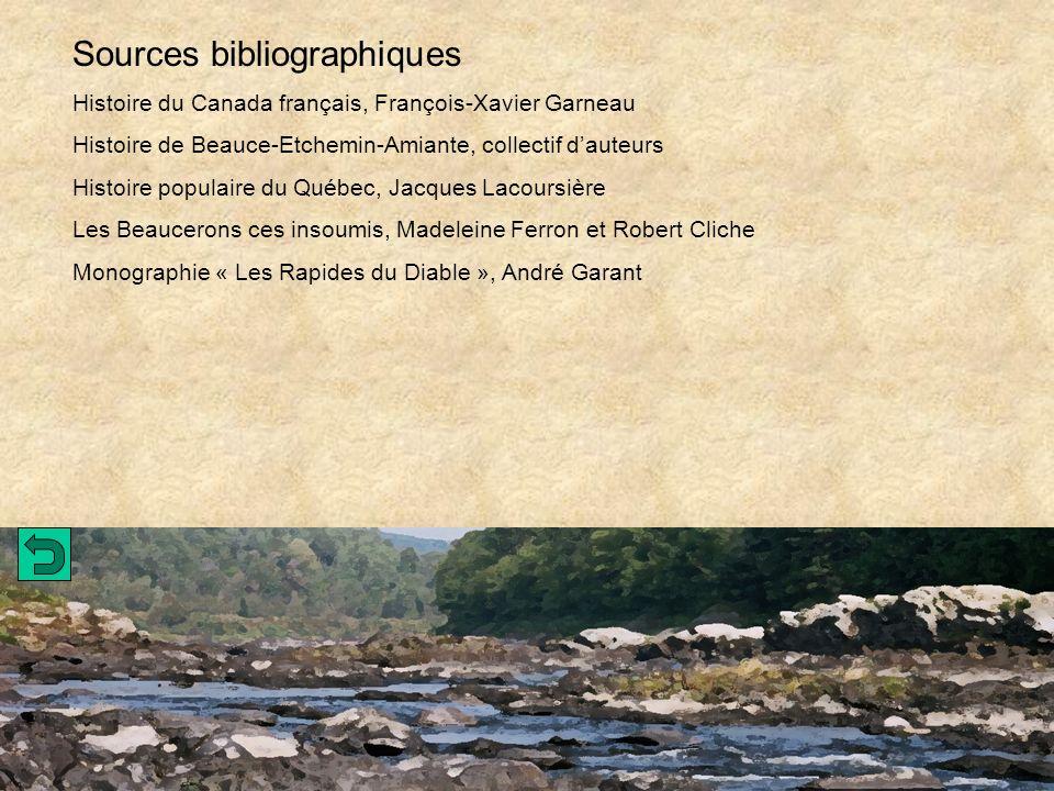 Sources bibliographiques