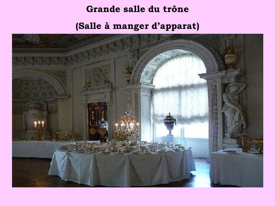 Grande salle du trône (Salle à manger d'apparat)