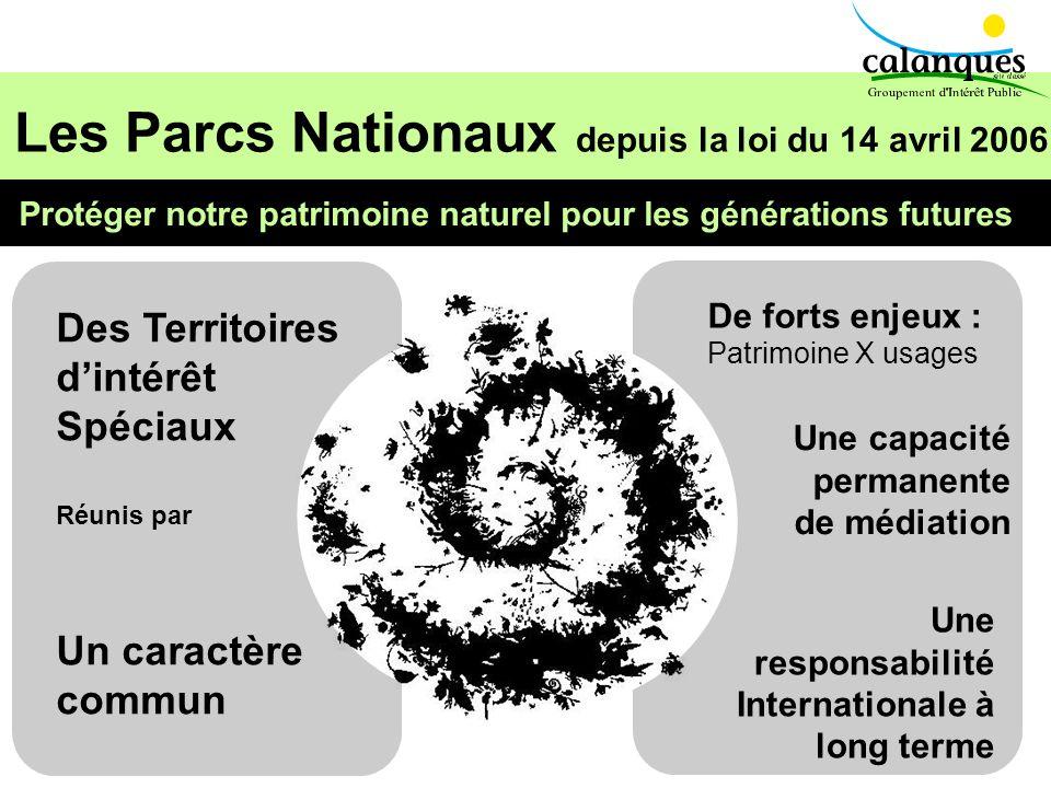 Les Parcs Nationaux depuis la loi du 14 avril 2006