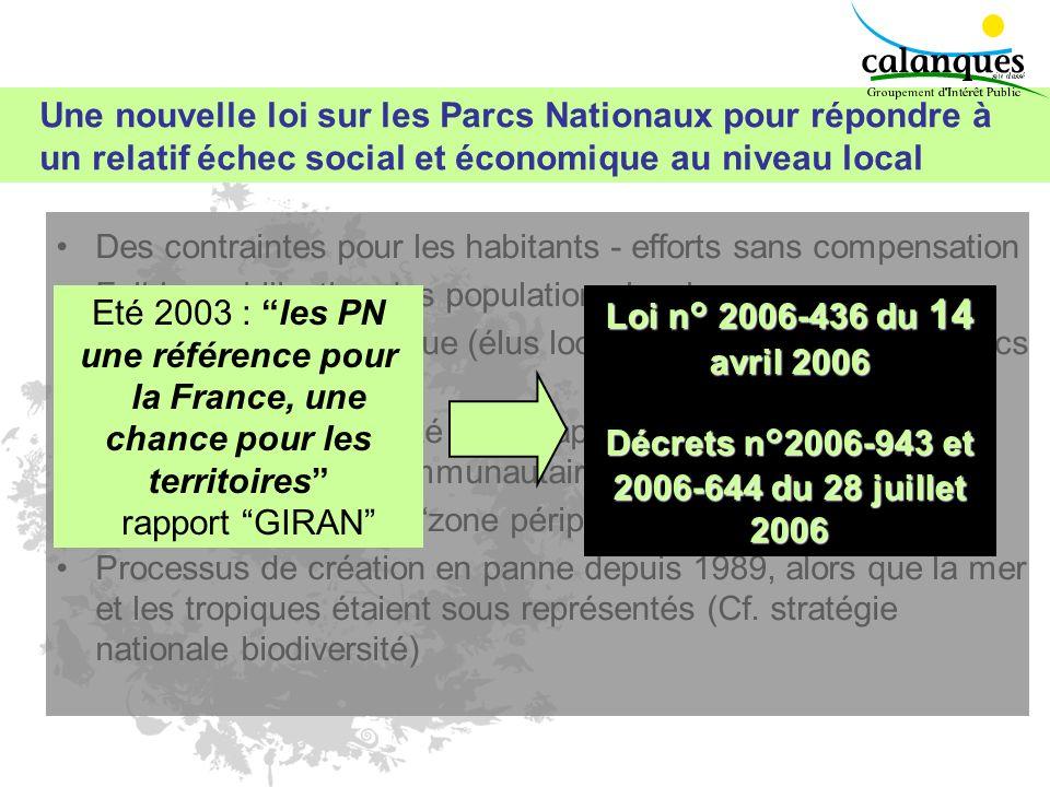 Décrets n°2006-943 et 2006-644 du 28 juillet 2006