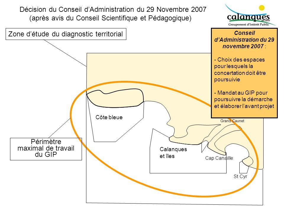 Conseil d'Administration du 29 novembre 2007 :