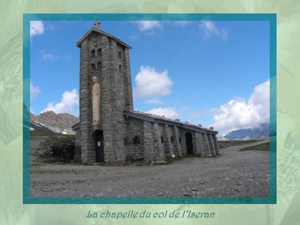 La chapelle du col de l'Iseran