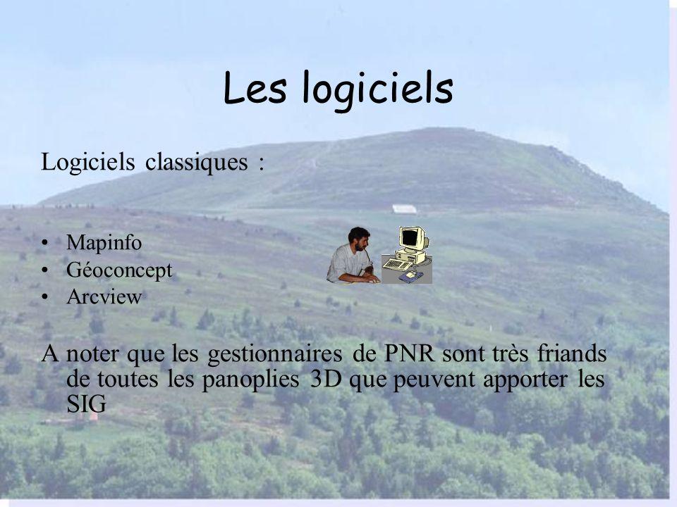 Les logiciels Logiciels classiques :