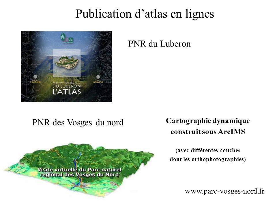 Publication d'atlas en lignes