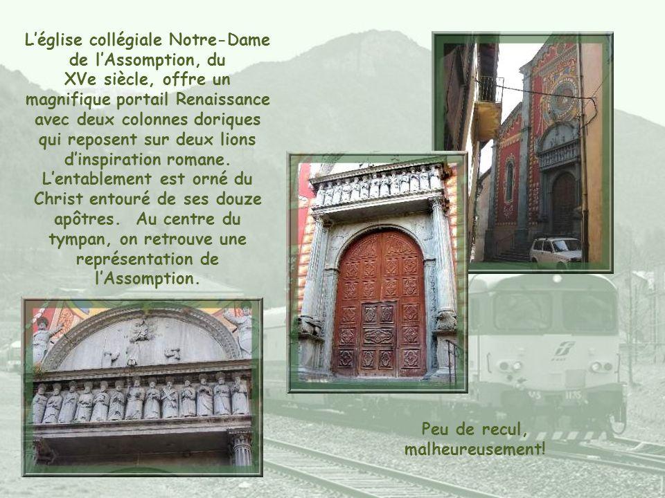 L'église collégiale Notre-Dame de l'Assomption, du