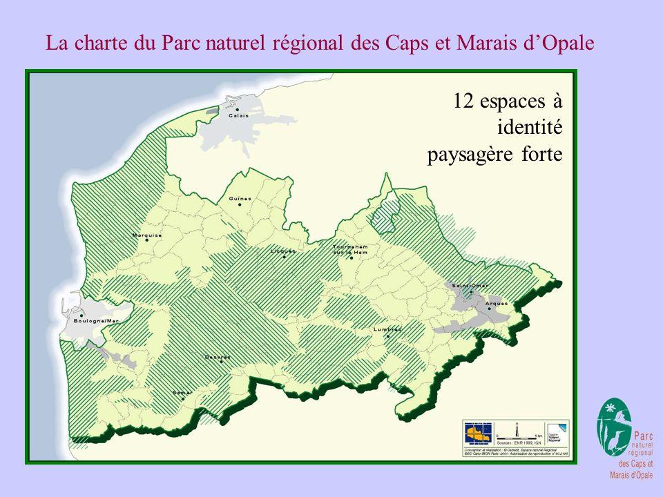 La charte du Parc naturel régional des Caps et Marais d'Opale
