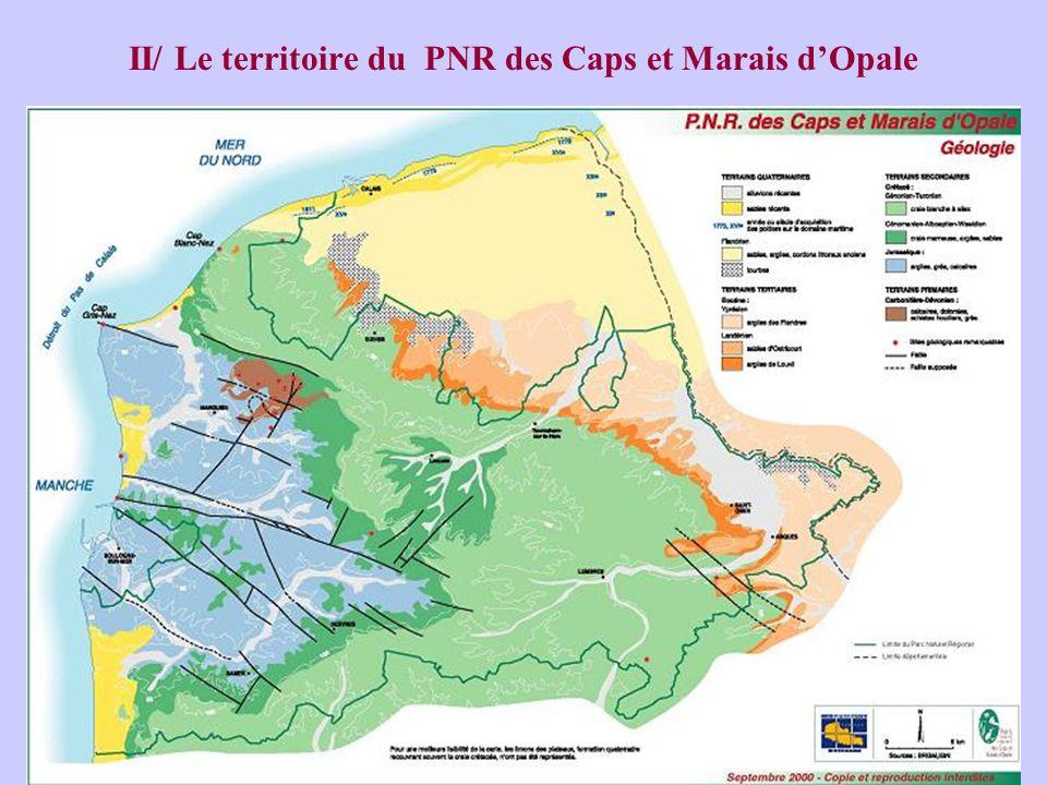 II/ Le territoire du PNR des Caps et Marais d'Opale