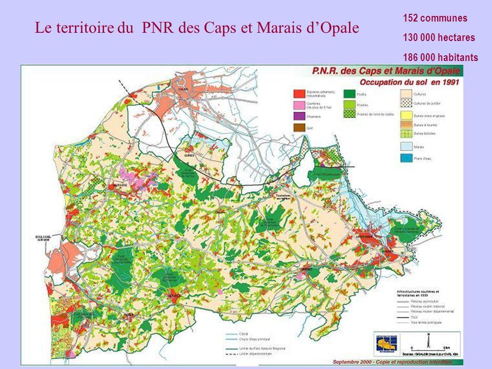 Le territoire du PNR des Caps et Marais d'Opale