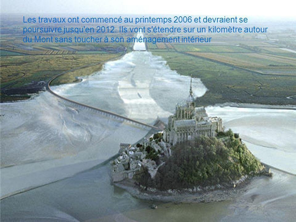 Les travaux ont commencé au printemps 2006 et devraient se poursuivre jusqu en 2012.