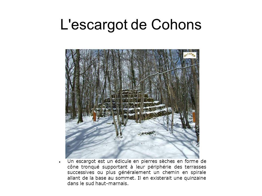 L escargot de Cohons