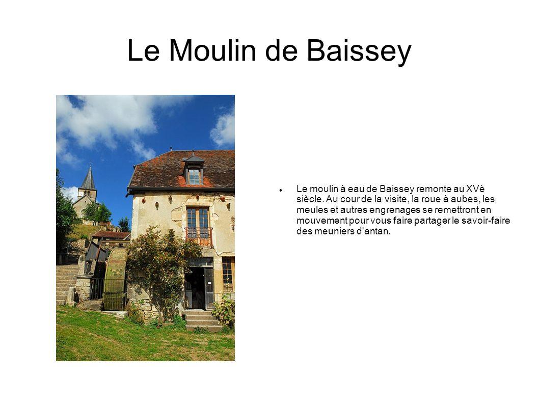 Le Moulin de Baissey