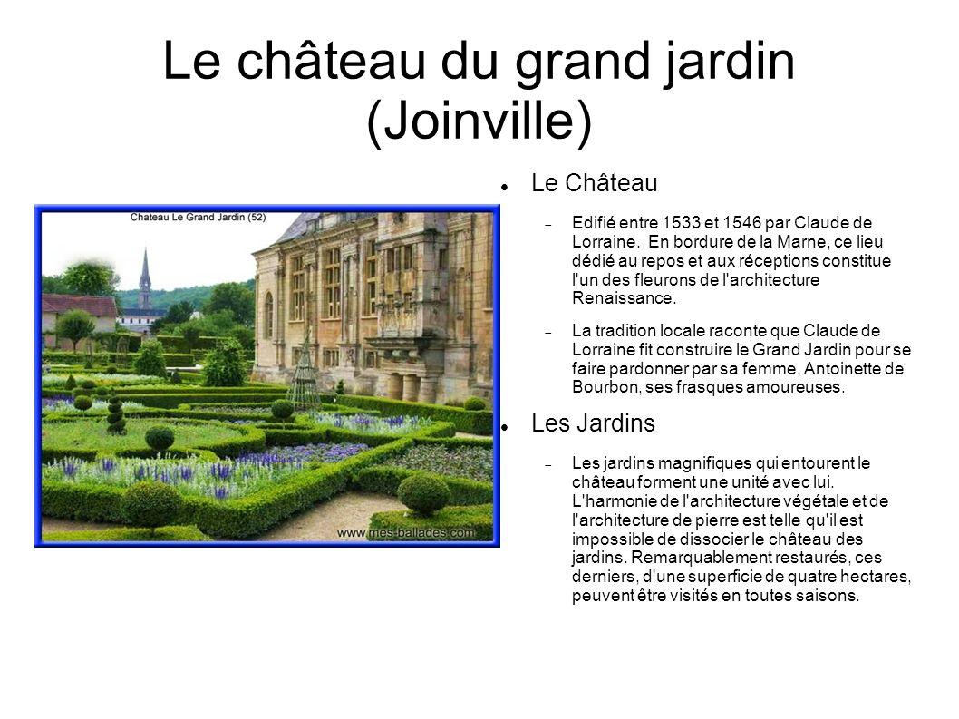 Le château du grand jardin (Joinville)