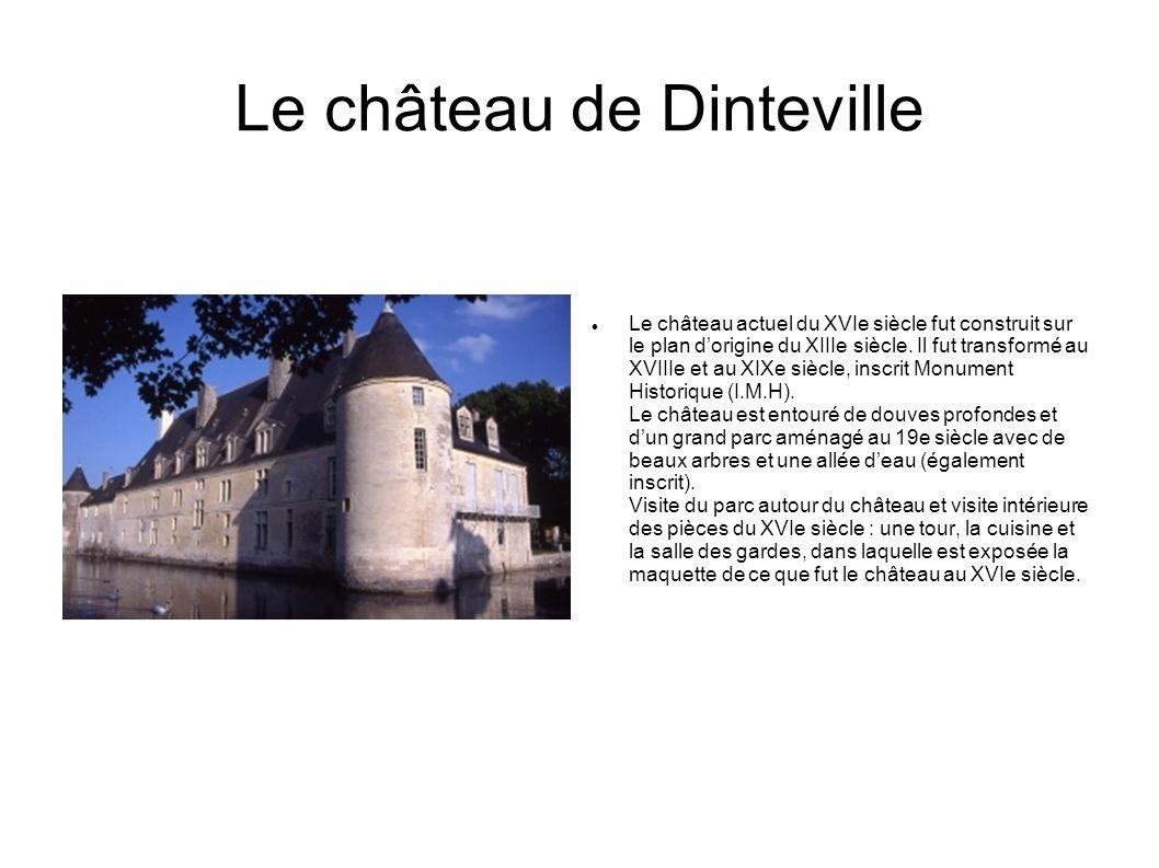 Le château de Dinteville