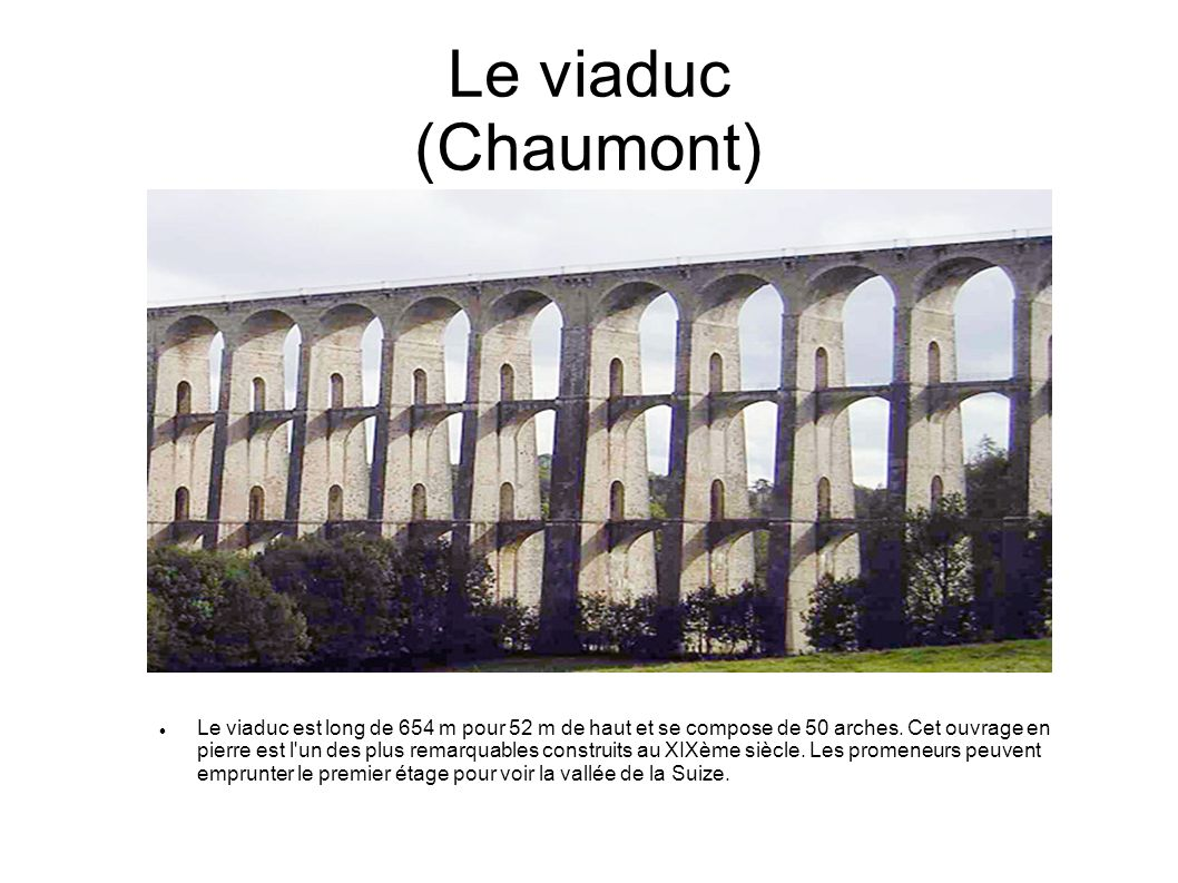 Le viaduc (Chaumont)