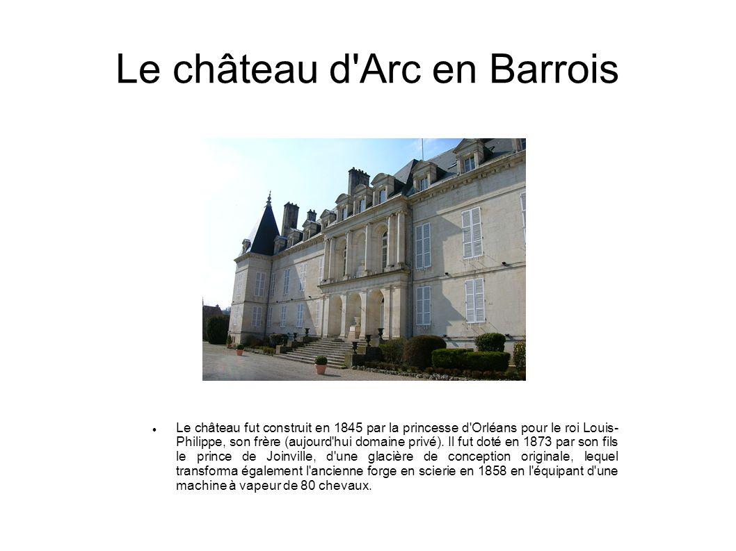 Le château d Arc en Barrois