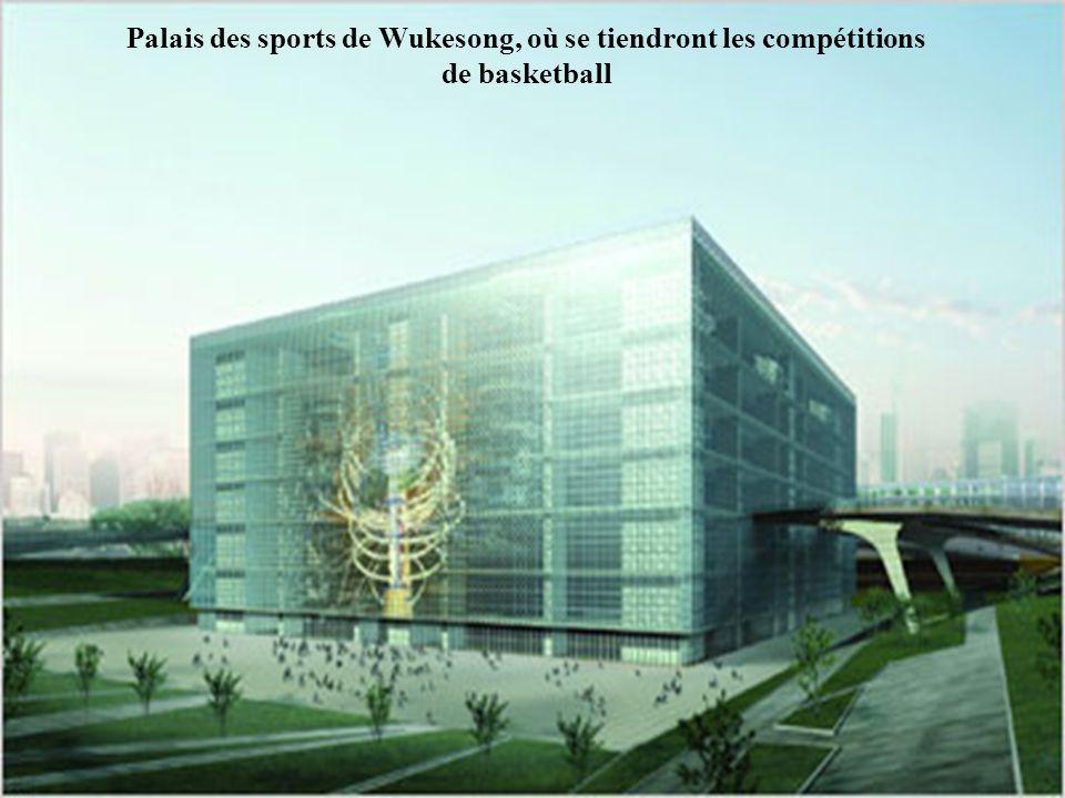 Palais des sports de Wukesong, où se tiendront les compétitions de basketball