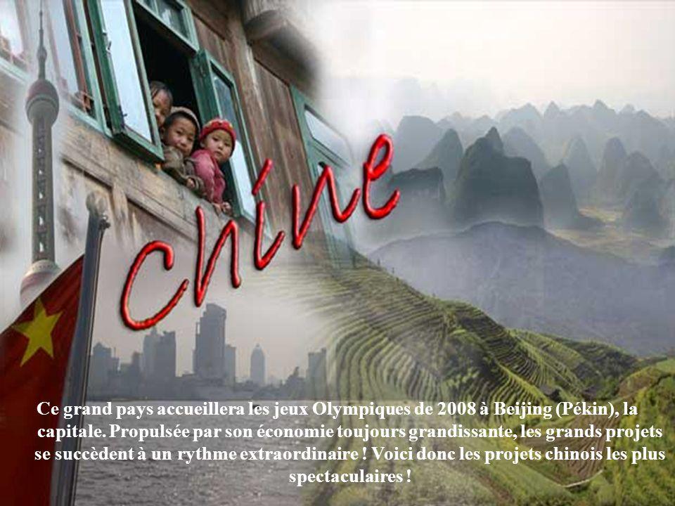 Ce grand pays accueillera les jeux Olympiques de 2008 à Beijing (Pékin), la capitale.