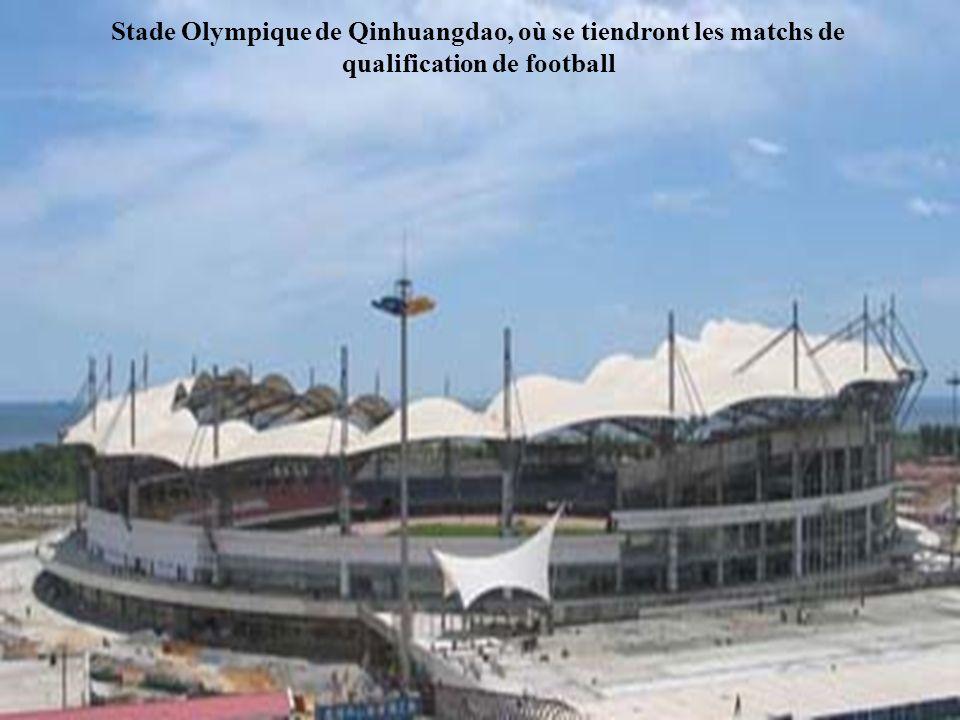 Stade Olympique de Qinhuangdao, où se tiendront les matchs de qualification de football