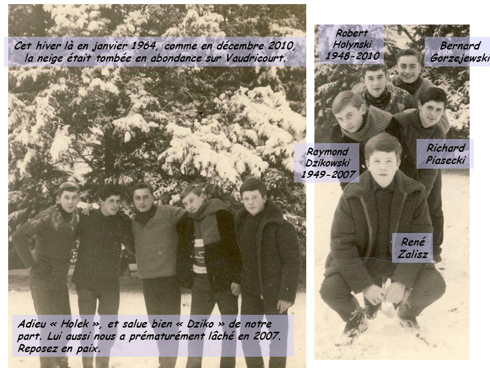 Cet hiver là en janvier 1964, comme en décembre 2010,
