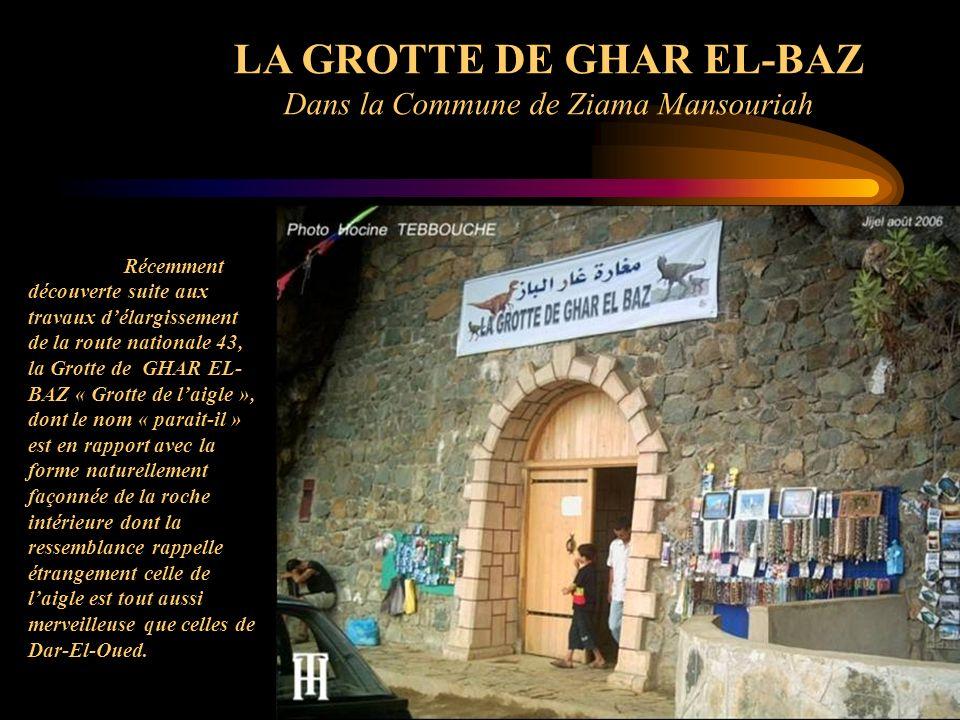 LA GROTTE DE GHAR EL-BAZ