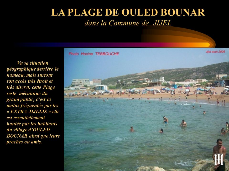 LA PLAGE DE OULED BOUNAR