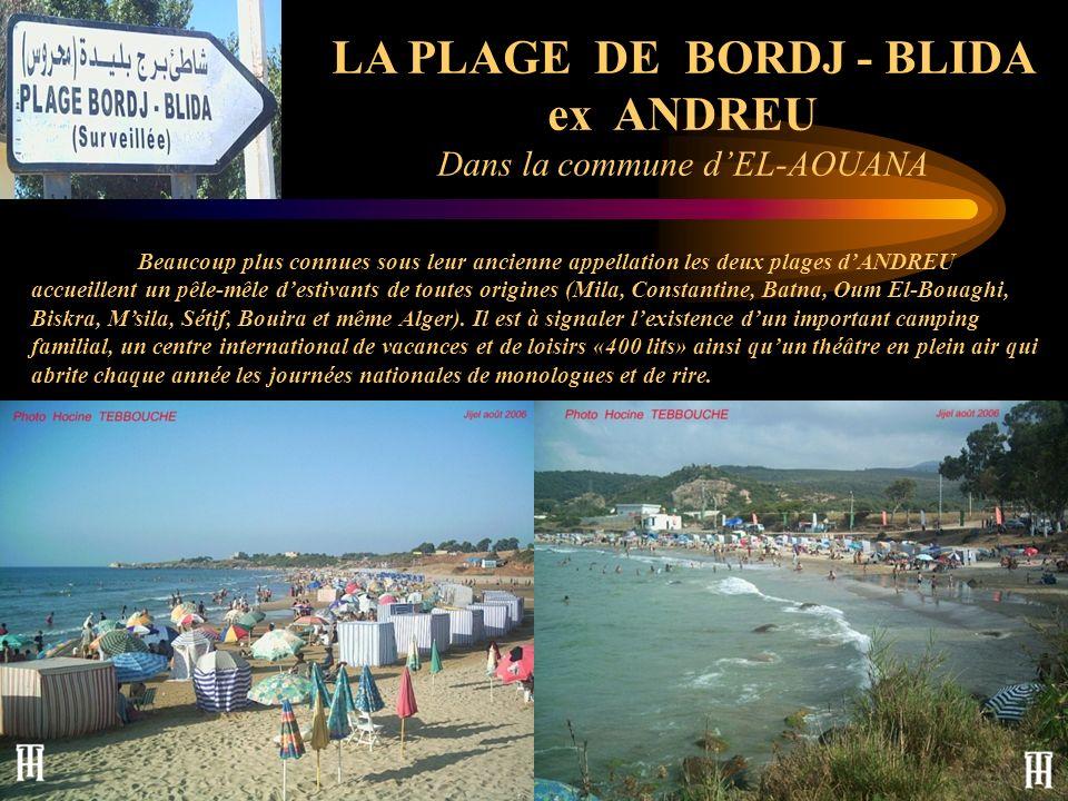LA PLAGE DE BORDJ - BLIDA ex ANDREU