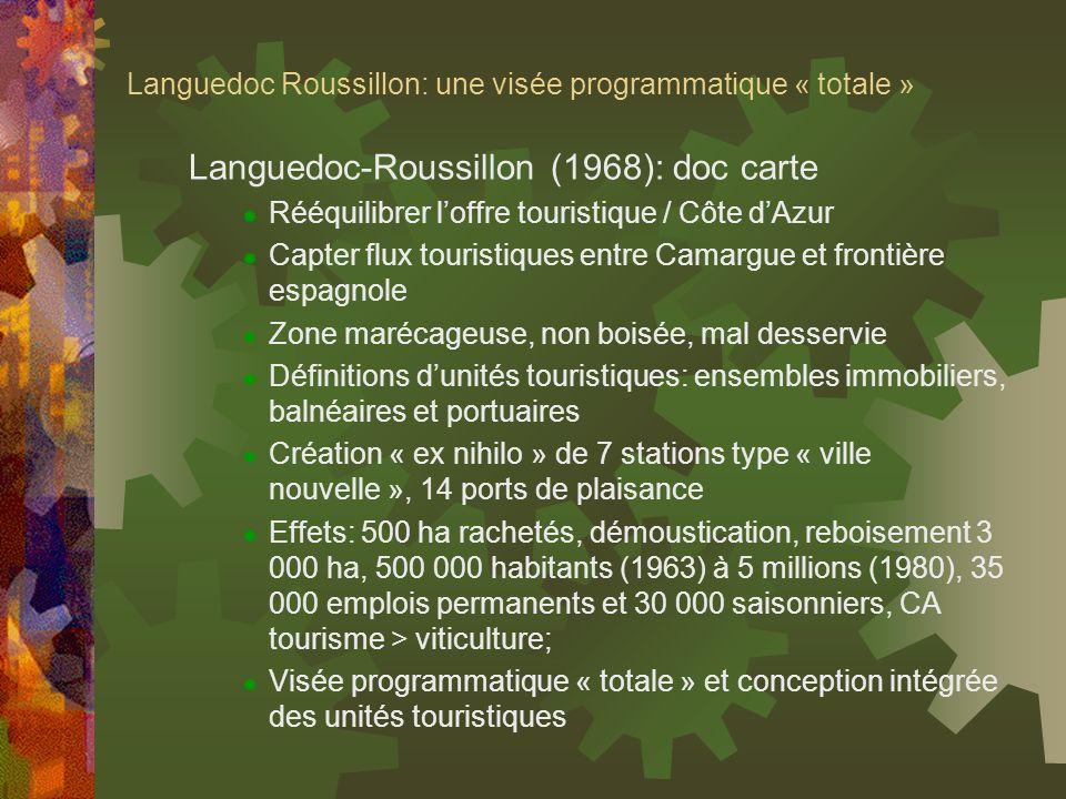 Languedoc Roussillon: une visée programmatique « totale »