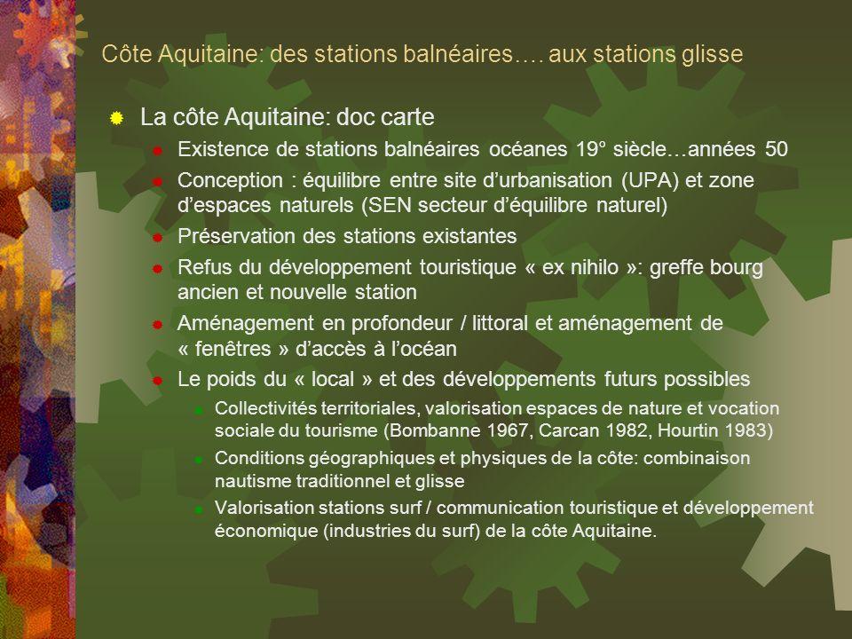 Côte Aquitaine: des stations balnéaires…. aux stations glisse