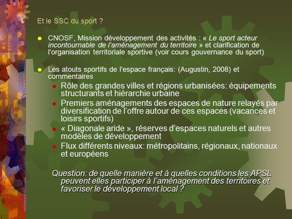 Et le SSC du sport
