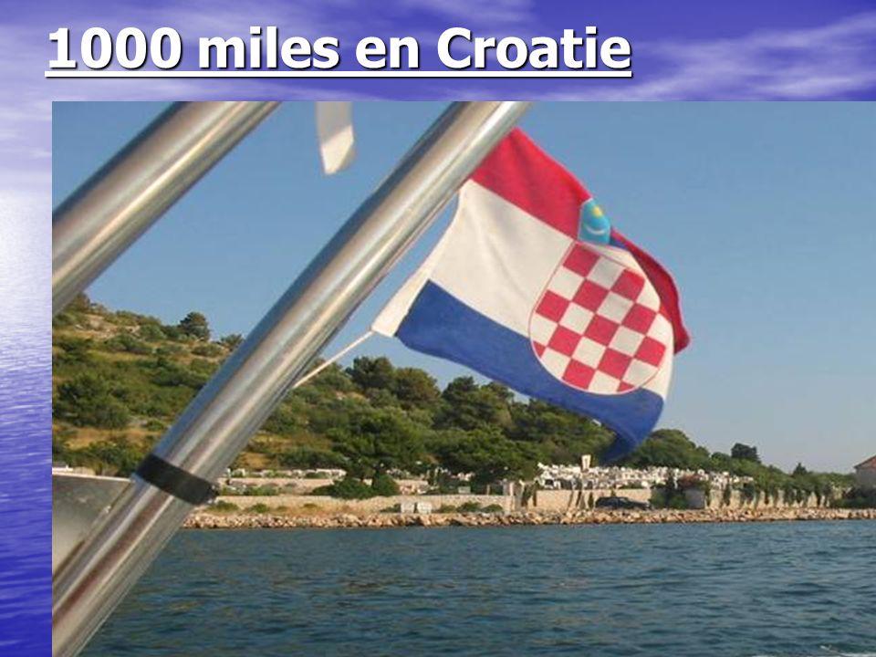 1000 miles en Croatie 26 / 07 / 2006.