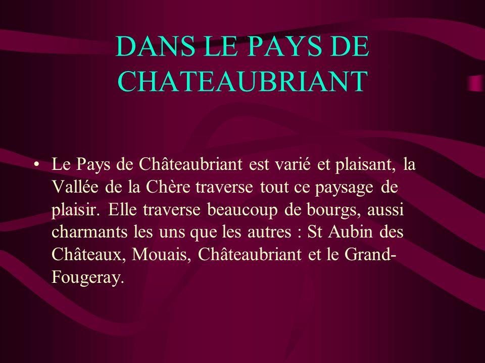 DANS LE PAYS DE CHATEAUBRIANT