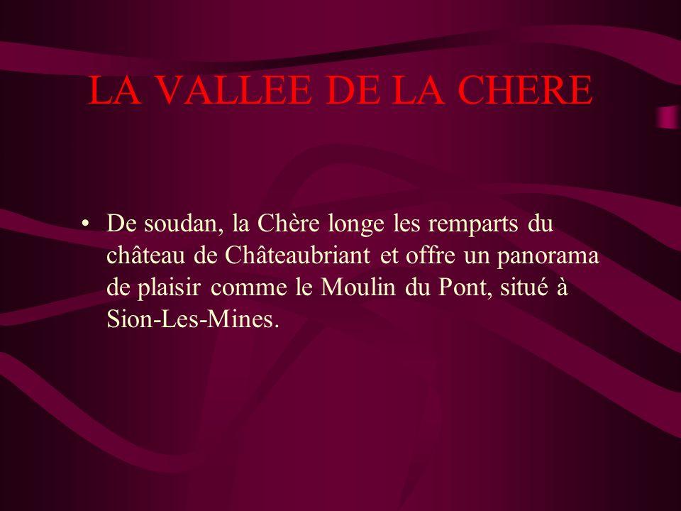 LA VALLEE DE LA CHERE